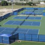 Tennis Looking West 2